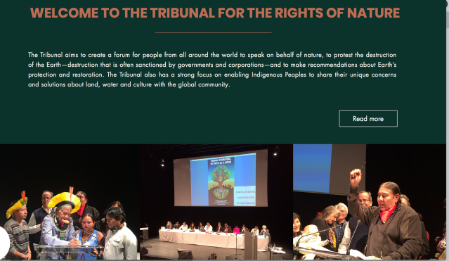 Tribunal rights of nature